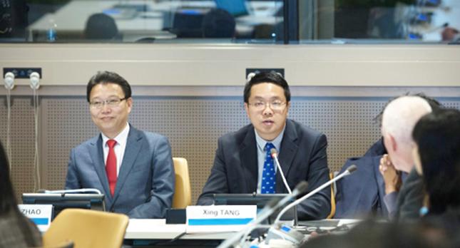bwin登录注册集团董事长唐兴应邀在联合国总部发表主旨演讲