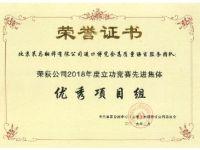 中国国际进口博览会优秀项目组