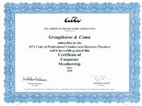 Grouphorse is a member of the American Translators Association (ATA)