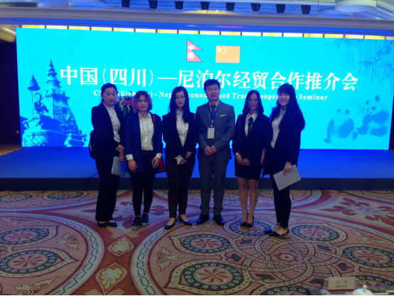 Grouphorse provides interpreting services for  China (Sichuan) –Nepal Economic and Trade Cooperation Seminar