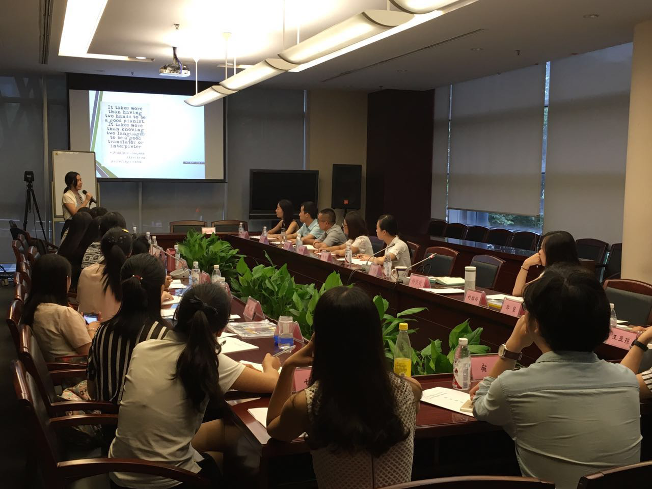Grouphorse provides interpreting training services for  Sichuan Office of China Banking Regulatory Commission