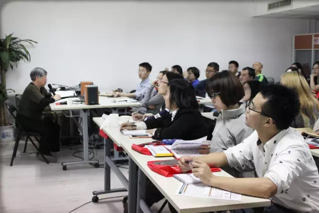 Former head of UN Chinese Translation Service gives translation lecture at Grouphorse Beijing